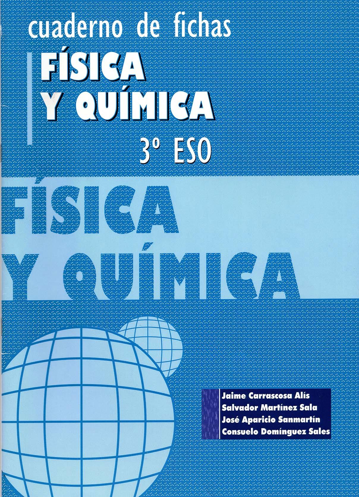 Cuaderno de fichas Física y Química 3º ESO