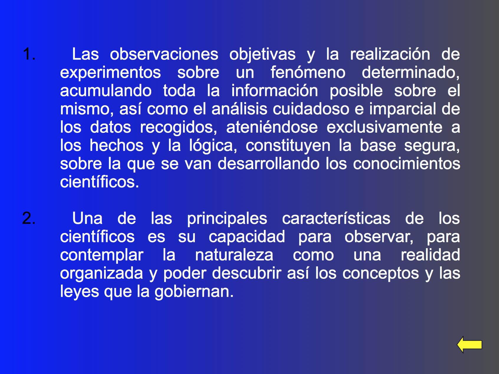 NAturaleza y ciencia