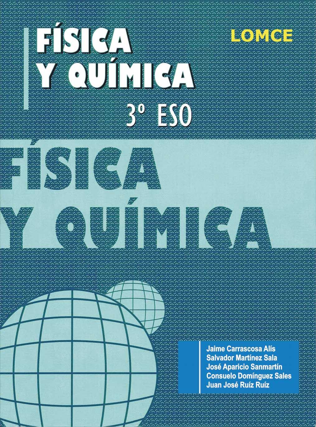 Cuaderno de fichas Física y Química 3º ESO LOMCE