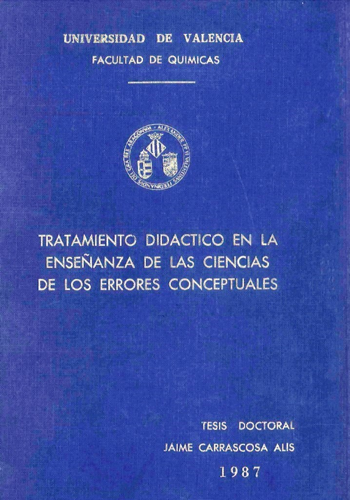 tesis, errores conceptuales